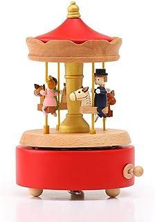 صندوق الموسيقى الرياضي | ألعاب صندوق الموسيقى للأطفال , خشب عالي الجودة , HD صوت عالي الجودة , مناسب للمفروشات المنزلية ال...