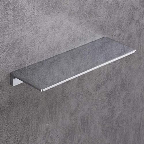 LXLH Shower Shelf,Nordic Brass Brushed Gold Bathroom Shelf Bathroom Dressing Table Rack Bathroom Shelves Bathroom Accessories