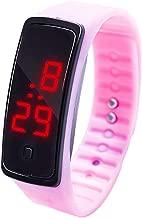 WUAI Unisex Kids Digital Watches Waterproof Outdoor Sports LED Wristwatch for Children Boys Girls Under 10 Dollar