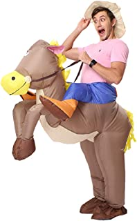 Decalare Inflatable Unicorn T-REX/Horse/Sumo Wrestler Wrestling Suits Costume Halloween Party Blow up Costumes Adult/Kids