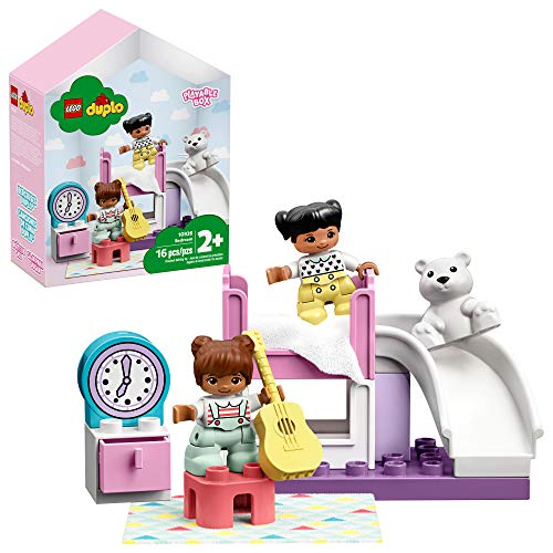 LEGO DUPLO Town Bedroom 10926 Kids' Pretend Play Set, Developmental Toddler Toy, Great for Kids' Learning and Play (16 Pieces)