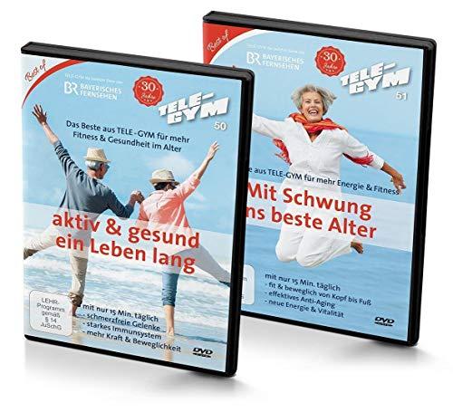 TELE-GYM 50 + 51 aktiv & gesund ein Leben lang + Mit Schwung ins beste Alter [2 DVDs]