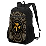 CHENWE Joshua Tree Vinyl Foldable Travel Backpack Casual Backpack, Student Bag Travel Storage Bag
