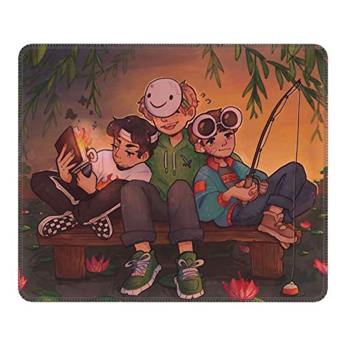 Dream SMP Mouse Pad Non-Slip Rubber Gaming Mouse Pads for Office Home