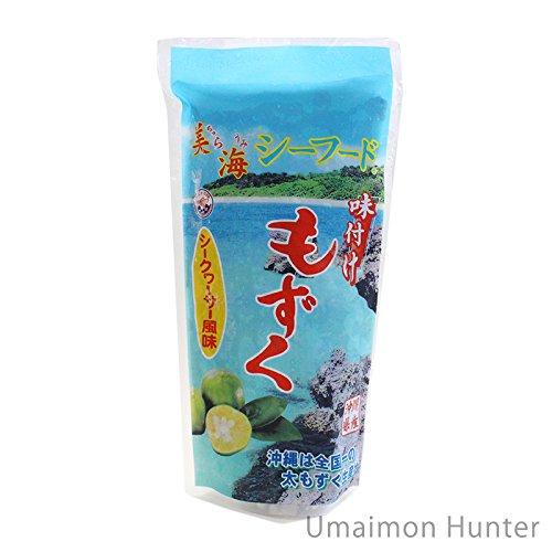沖縄県産 味付け もずく シークヮーサー風味 300g×5P 丸昇物産 美海 ちゅらうみ シーフード
