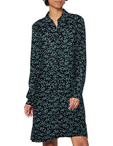 edc by Esprit 120CC1E312 Vestido, 004/BLACK 4, 36 para Mujer