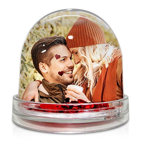 LolaPix Bola de Corazones Personalizada con tu Foto, diseño o Texto, Original y Exclusivo.
