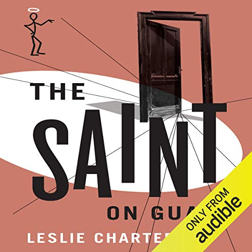 The Saint on Guard audiobook cover art