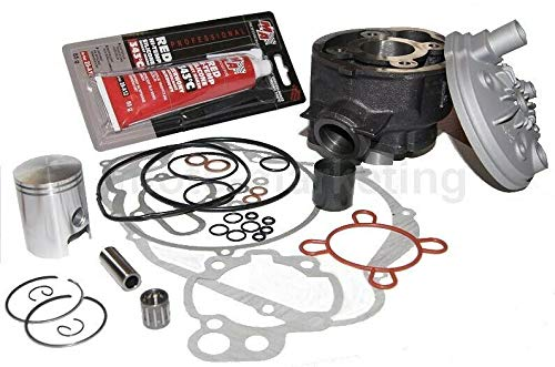 UNTIMERO 50 CCM Zylinder KIT Set KOMPLETT + NADELLAGER für CPI SM 50 SX Zylinderkit
