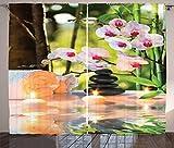 ABAKUHAUS Benessere Tenda, Massaggio Terme con Le Candele Orchidee e i Sassi in Giardino, ...