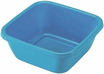 Preisvergleich für HEIDRUN Spülschüssel, Spülwanne, 34 x 34 x 14 cm, 9 l, farblich sortiert, 1 Stück, aus Kunststoff