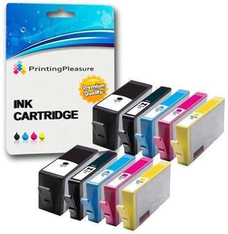 Printing Pleasure 10 Tintenpatronen kompatibel zu HP 364XL für HP Photosmart 7510 7520 B8550 B8553 C5380 C5383 C6380 C6383 D5460 D5463 D7560 Photosmart Premium C309a C310a C310c C510a, hohe Kapazität