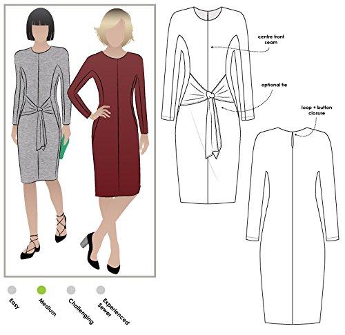 Stil Arc Schnittmuster–Serena-Strick-Kleid, Sizes 04-16