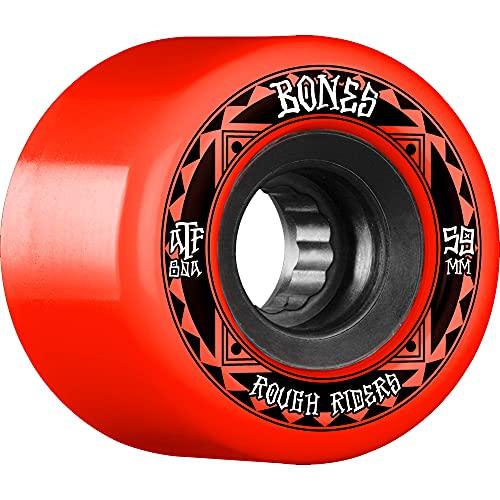 ボーンズ ウィール (BONES) ATF ROUGH RIDERS RUNNERS RED 59mm (ソフトウィール)