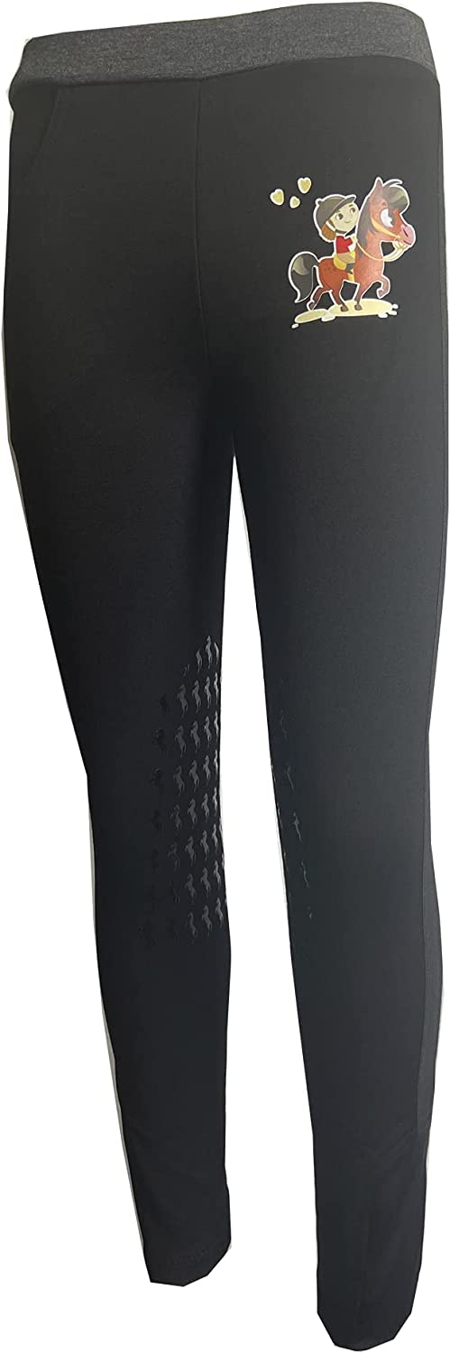 HR 激安 激安特価 人気上昇中 送料無料 Farm Kid's Lovely Knee Patch P Silicone Riding Breeches Horse