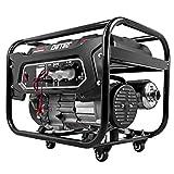 DeTec Essence Générateur – Générateur – 3,3 kW/3300 W 230 V Générateur de courant de secours