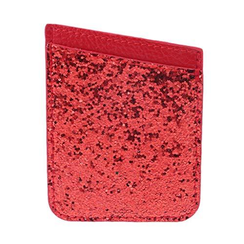 Vaeiner Credit Card Houders, PU Lederen Credit Card Houder voor Telefoon Portemonnee Pocket Sticker Zelfklevende Pouch Case