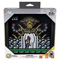Pixel Frames Contra NES 9x9インチ (ビッグ) シャドウボックスアート