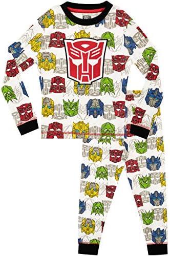 Transformers Boys Pajamas Size 4 Gray product image