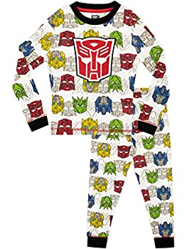 Transformers Boys  Transformers Pajamas Size 4 Gray