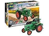 Revell Easy Click System 07821 Tracteur à ConstruireDeutz D30, échelle 1/24 Maquette, Vert