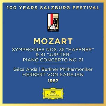 "Mozart: Piano Concerto No. 21; Symphonies No. 35 ""Haffner"" & No. 41 ""Jupiter"""