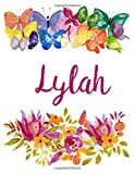 Lylah: Flower Notebook Writing Journal for Girls,Personalized With Name,  Personalized Writing Journal,Notebook for Women and Girls, Personalized Notebook/Journal Gift
