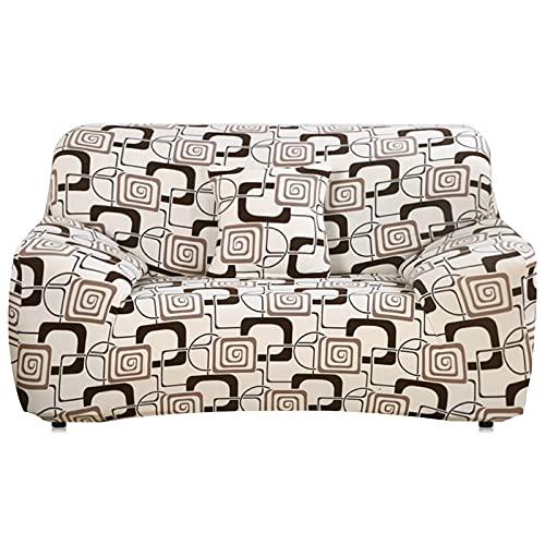 MKQB Funda de sofá elástica elástica Moderna, Funda de sofá Modular de Esquina para Sala de Estar, Funda de sofá Antideslizante con protección para Mascotas n. ° 5 L (190-230cm)