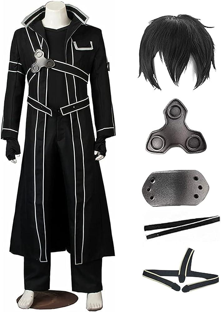 SAO Recommendation Kirigaya Kazuto Costume Yuuki Suit Set Direct store Cosplay Full