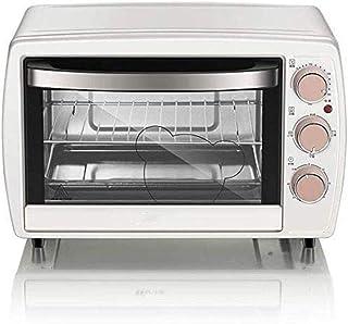 QJY Horno for pizzas, Breadmakers, Horno eléctrico del hogar Doble Horno de cocción de 20 litros de capacidad superior e inferior del tubo, temperatura de la máquina ControlCake Hornear