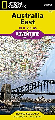 Australia East (National Geographic Adventure Map, 3502)