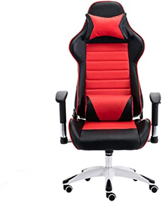 LJFYXZ Home Gaming Chair, Silla de la computadora Office Game Chair Cómoda elevación de la