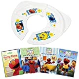 Ultimate Sesame Street Elmo's World Potty DVD Collection with Foldable Potty: Elmo's Potty Time / Head to Toe with Elmo / Families, Mail & Bath Time/ Food Water & Exercise