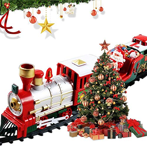 Classic Christmas Train Set,Deluxe Train Set With...