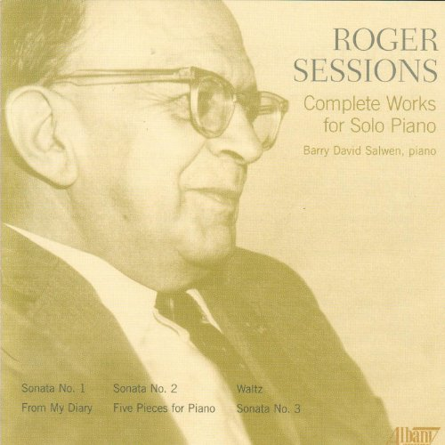 Roger Sessions - Complete Works For Solo Piano