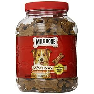 Milk Bone Soft & Chewy Dog Snacks- 2 Pack- (37oz Each) (Chicken)