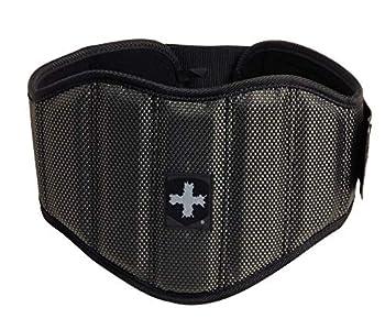 Harbinger Men s Firm Fit 7.5-Inch Contoured Weightlifting Belt Medium  Black