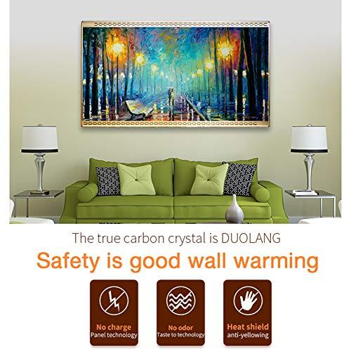 HL Infrarot Heizung Panel Gut Montiert Carbon Kristall Infrarot Heizung Bad Home Office kaufen  Bild 1*