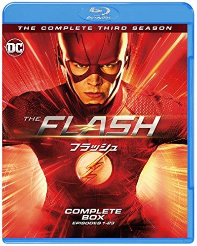 THE FLASH/フラッシュ 3rdシーズン コンプリート・セット(1~23話・4枚組) [Blu-ray]