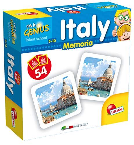 Lisciani spel I 'm a Genius geheugen 100 Italië.