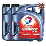 Total Quartz 500015W40Diesel Aceite de motor tot-148644–10–2x 5litros = 10L