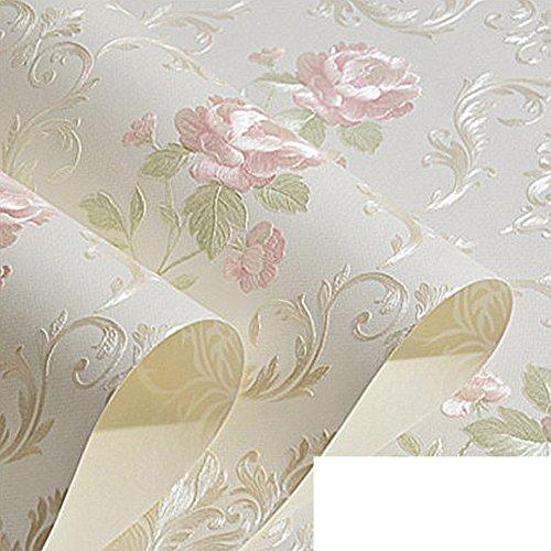 die Europäische Vliestapete/Pastorale Romantik Blume Tapete/fein geprägte Schlafzimmer...
