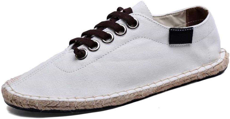 FORTUN Walking shoes Classic Flat shoes Women's Linen Casual shoes Loafers