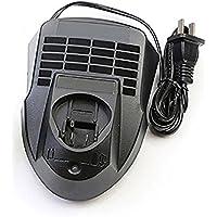 AL1115CV Cargador para Bosch 10.8V y 12 voltios de ion de litio baterías BAT411, BAT412A, 2 607 336 996 Cargador de batería de herramientas eléctricas, enchufe de la UE