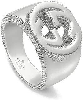 Gucci Silver Ring Interlocking YBC479229001016