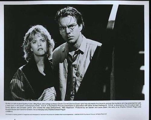 """Dennis Quaid Meg Ryan D.O.A. Original 8x10"""" Photo #G9009"""