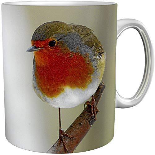 metALUm Kaffeetasse Rotkehlchen # 330010082