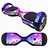 Bolayu 6.5 Inch Self-Balancing Scooter Skin, Sticker for Hover Electric Skate Board, Two-Wheel Smart Protective Cover Case Stickers (F)