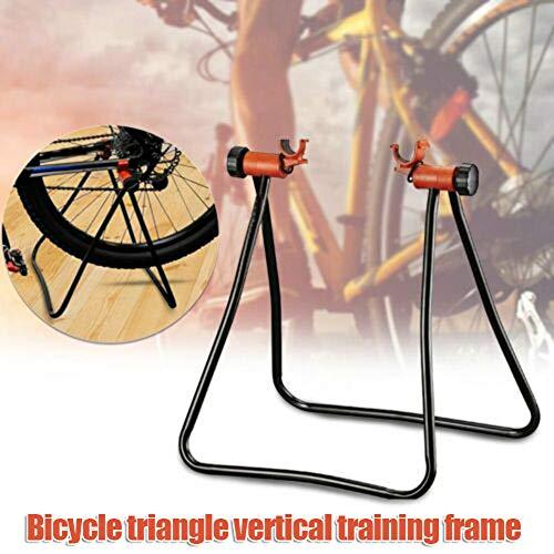 ERTYUI fietsenstal, opvouwbare fietsenstalling Fietsenstatief Wielstandaard Indoor Oefening Training Draagbaar