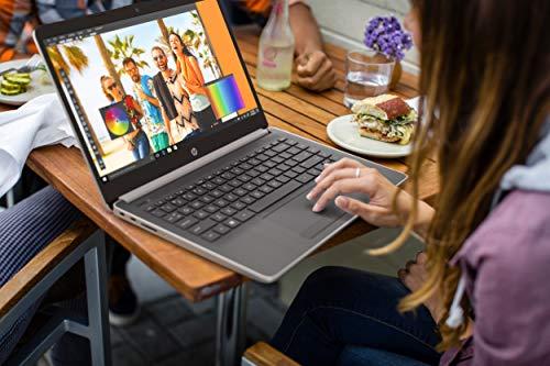 """HP 14-dk0731ms 14"""" HD Touchscreen Laptop, AMD Ryzen 3 3200U, 8GB, 128G, Silver"""